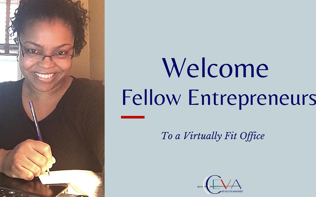 Welcome Fellow Entrepreneurs